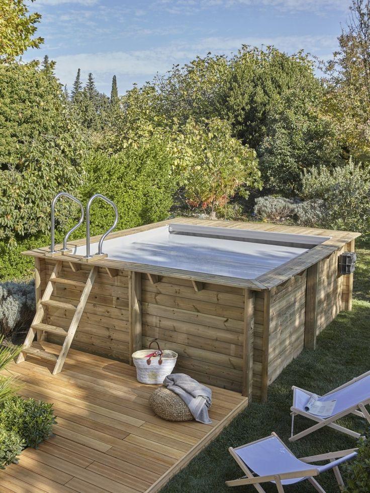 Une piscine en bois pour profiter de l'été