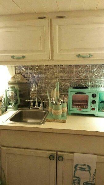 Vintage camper kitchen. 1967 Serro Scotty. Camper -Irestoration  I like the…