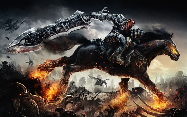 Darksiders Game Wide  #Darksiders #Game #Wide Check more at https://wallpaperfree.org/games-wallpapers/darksiders-game-wide