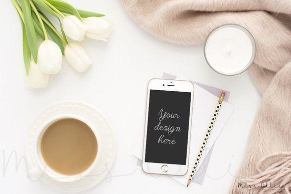 Mobile styled stock by Miss Ollie on @creativemarket