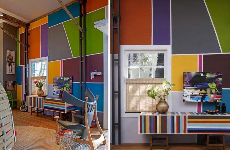 Idées de peinture cool transforment vos murs en une déclaration