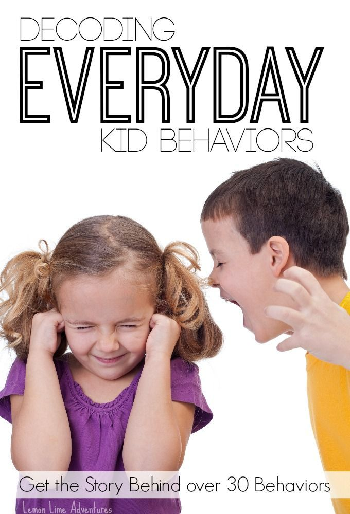 Decoding Everyday Kid Behaviors | An Extensive list in Alphabetical order of troubling kid behaviors. AWESOME Parenting Resource