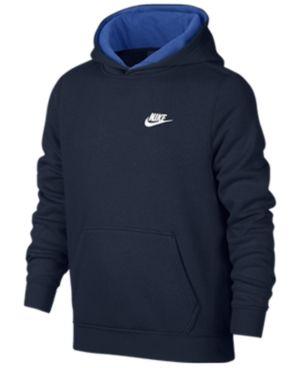 Nike Club Fleece Hoodie, Boys 8-20 - Blue XL
