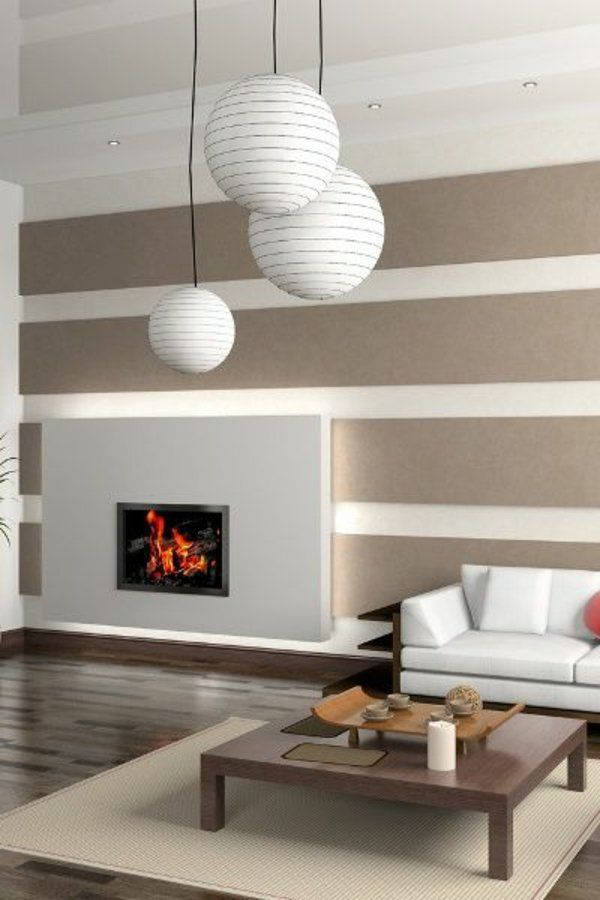 Design Wohnzimmer Gorgeous Design Farbe Wand Ideen Die Besten 25