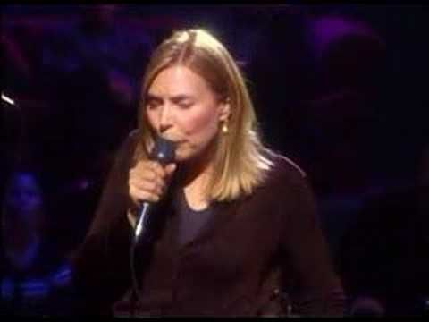 """Joni Mitchell doing Marvin Gaye's """"Trouble Man."""" YES."""