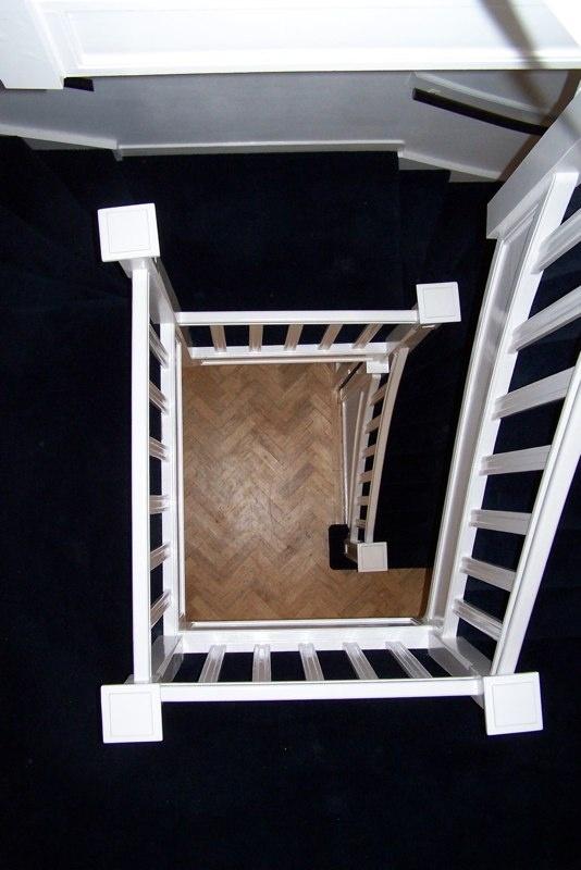 Binnenschilderwerk Trap