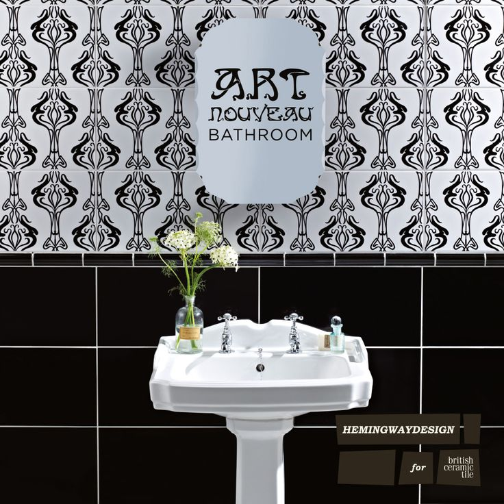 Bathroom Art Nouveau: 46 Best Images About Moodboard Bathroom On Pinterest