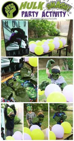 Want to know a smashing party inspired by one of the most favourite Marvel Comics characters? Check out these Incredible Hulk party ideas to draw inspirati