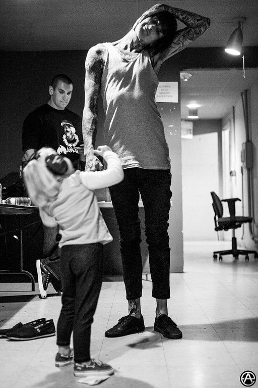 RIP Mitch Lucker of Suicide Silence, Kenadee Lucker benefit | Adam Elmakias | Music Photographer