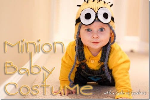 Minion costume for baby/toddler