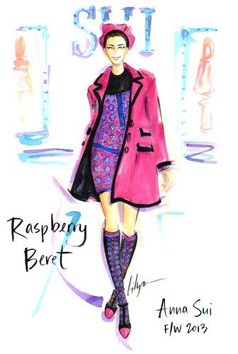 Jennifer Lilya Fashion Illustration