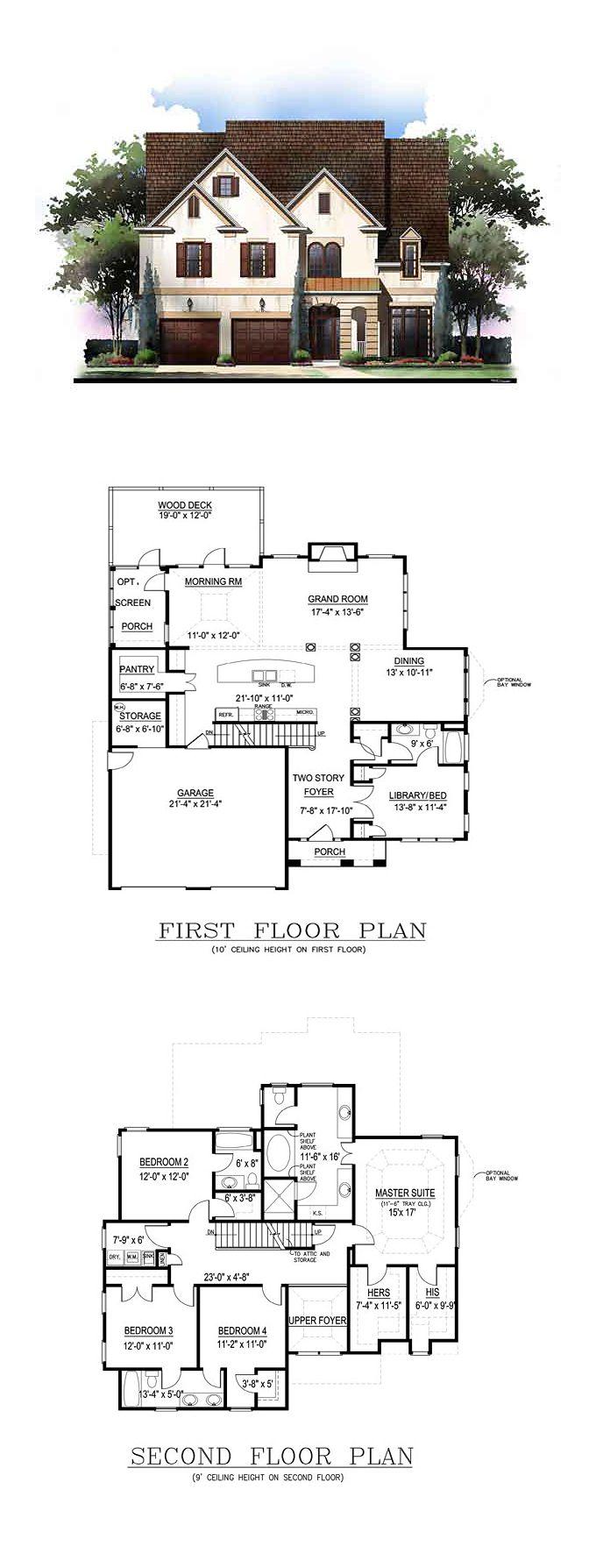 The Designer House Plan Thd Exb on