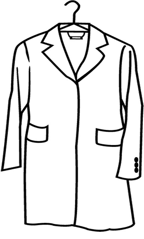 lab coat coloring pages - photo #5