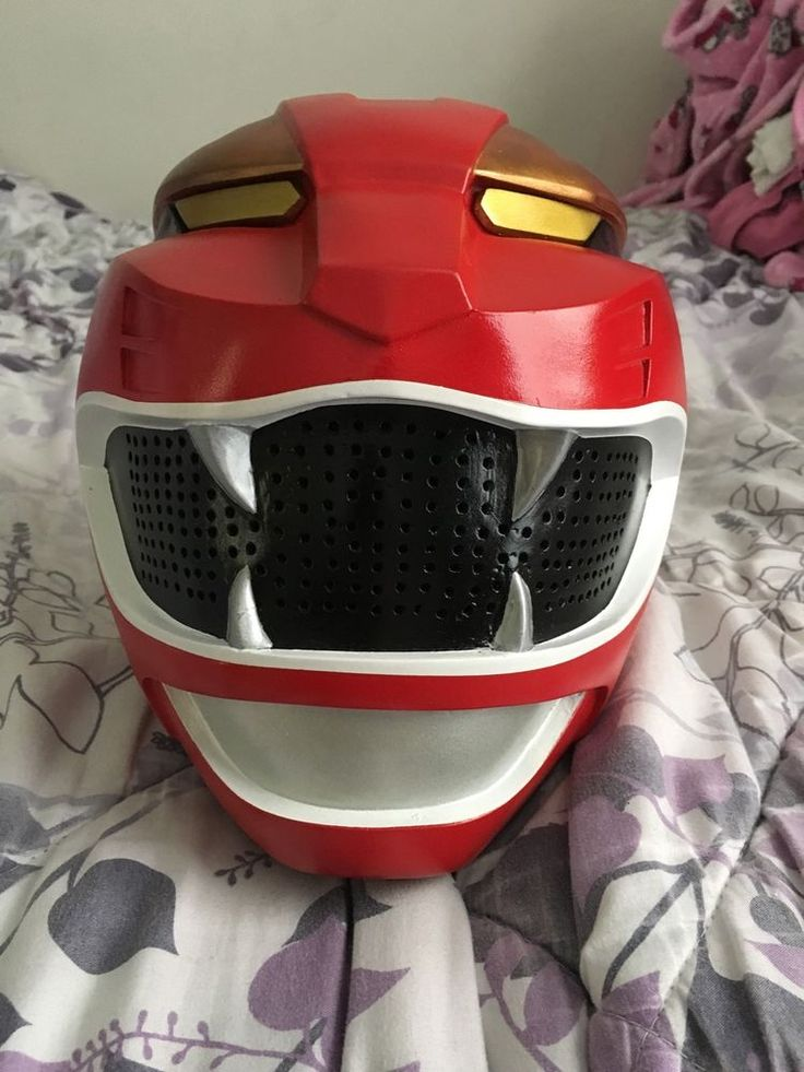 power rangers wild force red costume cosplay helmet gaoranger used from $200.0