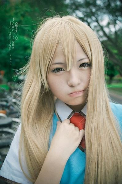 AkimotoKumiko(秋本久美子) Mashiro Shiina Cosplay Photo - Cure WorldCosplay