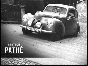 Praha v roce 1947: Škodovka sjela Nuselské schody