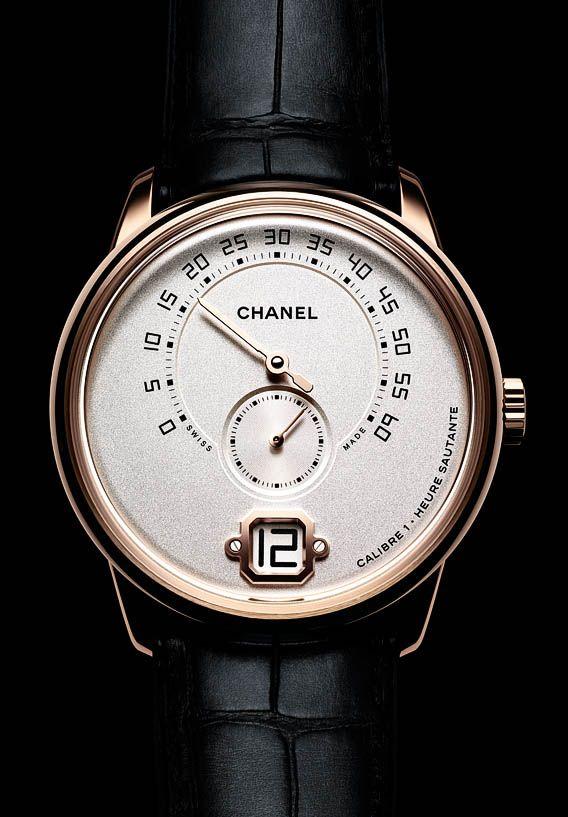 La Cote des Montres : Monsieur de CHANEL - Une montre Monsieur conçue spécifiquement pour les hommes
