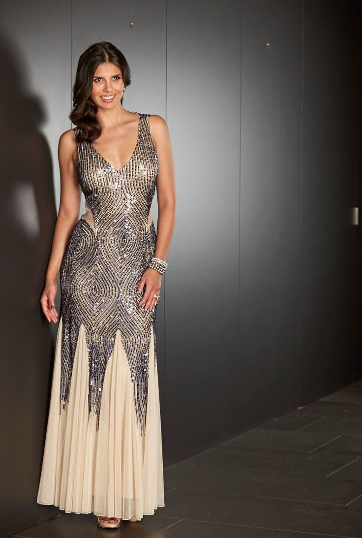 MR K Sequenced Formal Dress K6776 - Eve's Place Fashions
