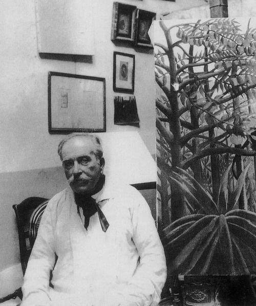 French artist/painter Henri Rousseau