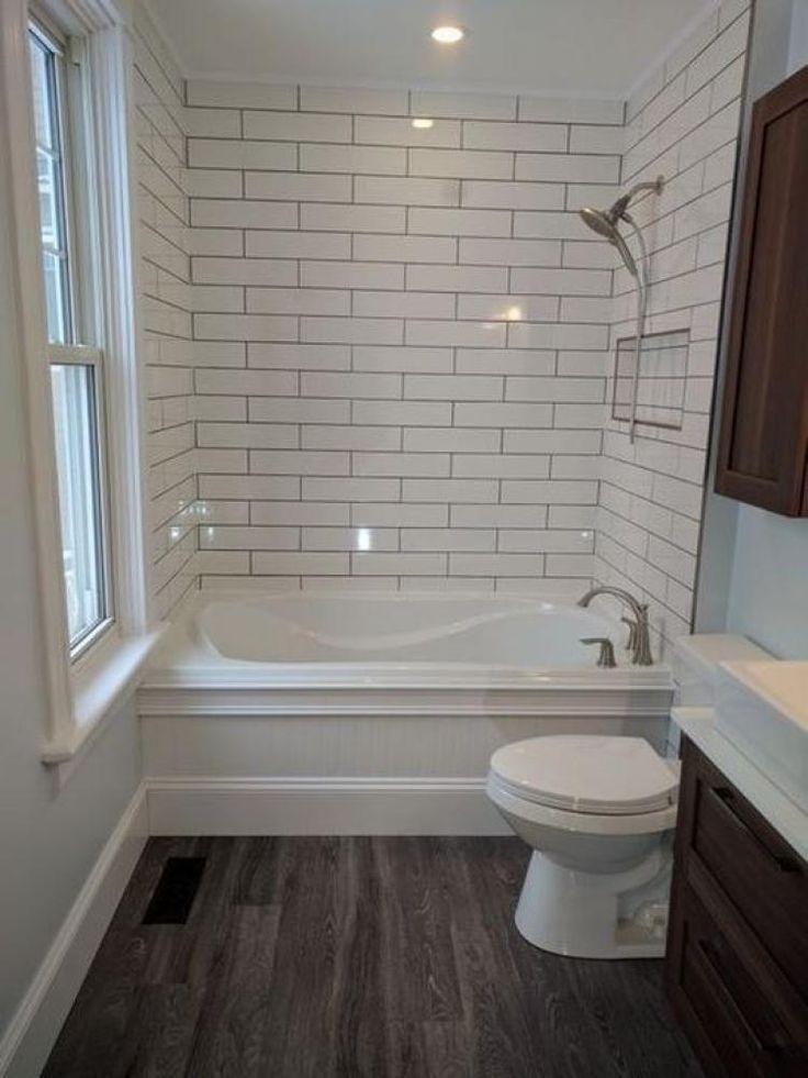 Vintage Farmhouse Bathroom Remodel Ideas Minimalist Small Bathrooms Bathrooms Remodel Small Bathroom Remodel