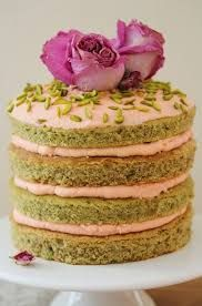 Image result for rosewater and pistachio