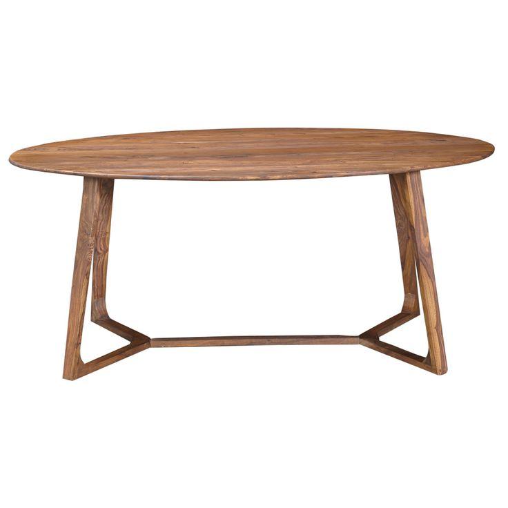 Metropolitan Oval Dining Table / InMod