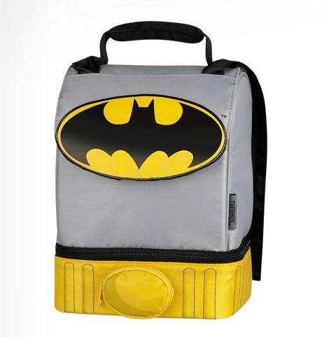 Best Lunch Box Ever | Best Batman Lunch Box ever. It has a cape!! via 25…