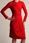 When in doubt wear red--Bill Blass