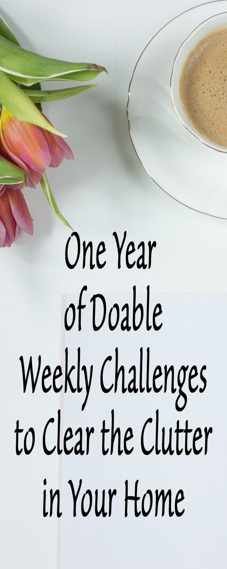 NEW CHALLENGE FOR 2018 - Do you want to get your home organized this year but don't know where to start? Do this NEW One Year of Doable Weekly Challenges to Clear the Clutter in Your Home challenge and take part in our private Facebook Support group with other members who are taking on their homes this year! - https://sabrinasorganizing.com/doable-weekly-challenges/