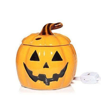 Jack-O'-Lantern Halloween Electric Wax Melts Warmer - Yankee Candle