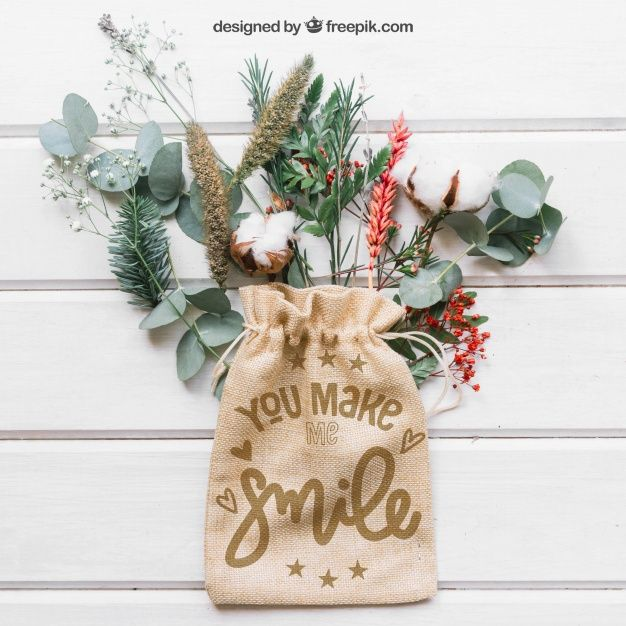 Download Download Mockup Of Bag On Leaves And Branches For Free Bags Eco Fabric Blank Tote Bag
