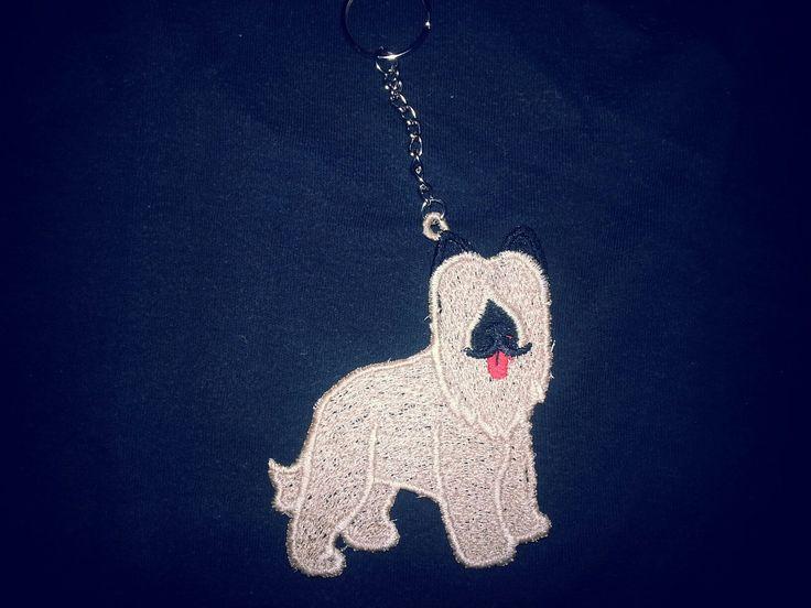 Portachiavi lace cane