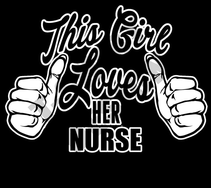 This Girl Loves Her Nurse - PNG T-shirt design by MugsAndAccessories on Etsy