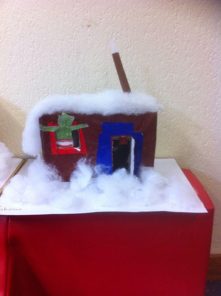 Het huis van Kikker in de kou