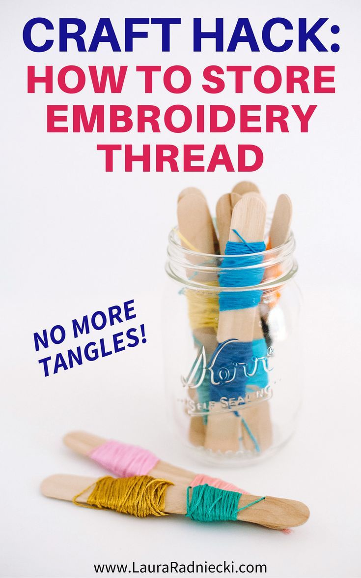 Thread where to buy ice picks in bulk - How To Store Embroidery Thread Without Tangles