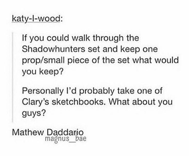 Totally. And Harry Shum jr.   Let's take them.  Make them do stuff for us. For their benefit or for ours