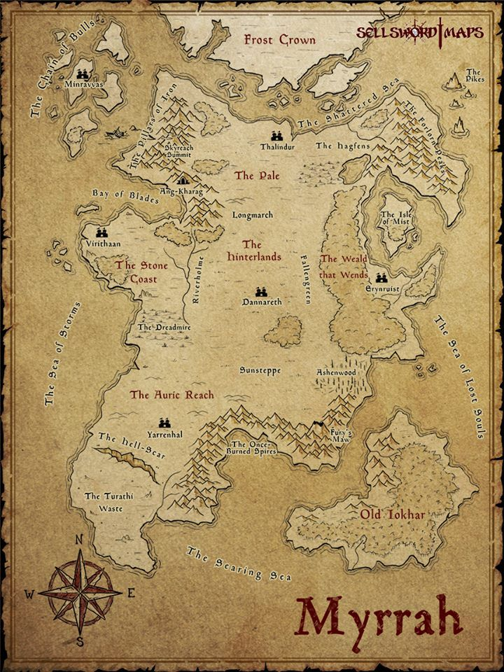 Pin by Larry Krog on D&D | Fantasy world map, Dnd world map, Map games