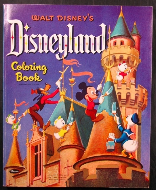 Disneyland Coloring Book 1956