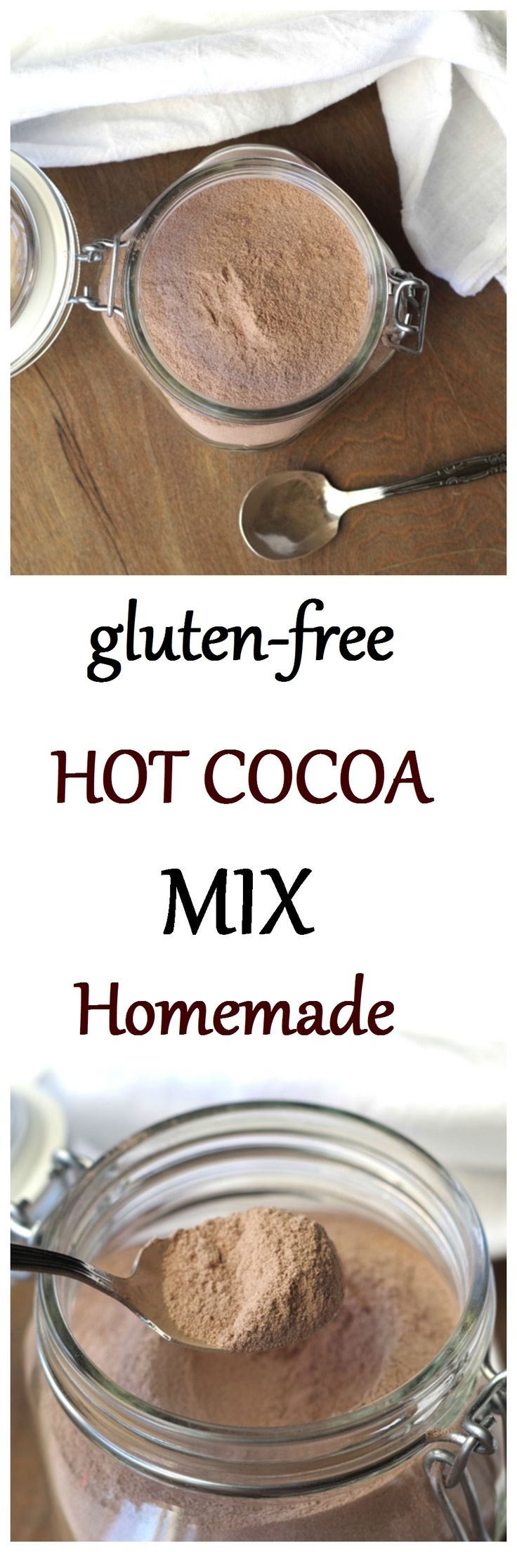 This simple gluten-free hot cocoa mix will be a new staple in your house.