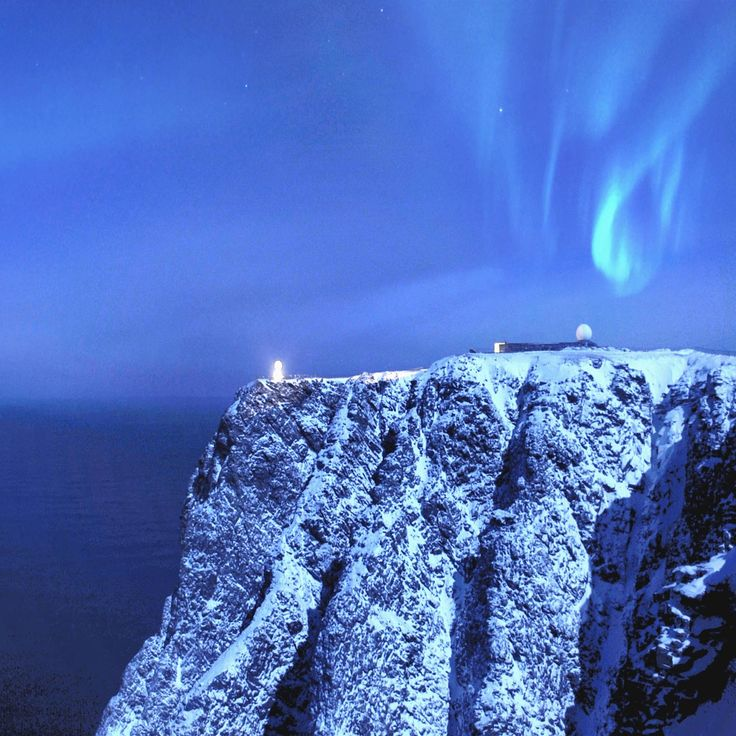 North Cape Norway The most northerly point in EuropeThe North Cape, around 71 degrees north and approximately 2,000 km from the North Pole, is located on Magerøya at the very end of the European landmass.