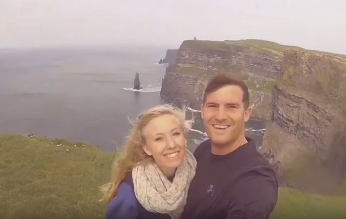 For Kaitlyn and Zack Blake, their honeymoon in Ireland was a journey of love – for themselves and for Kaitlyn's great-grandmother.