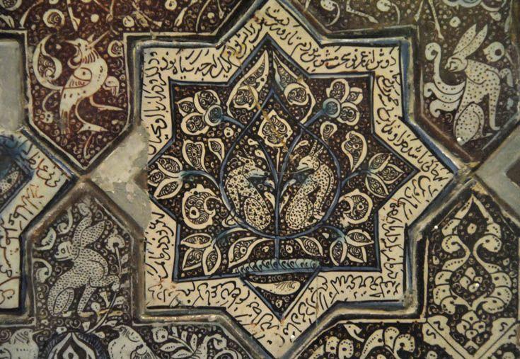 Persian tiles, XIV c.