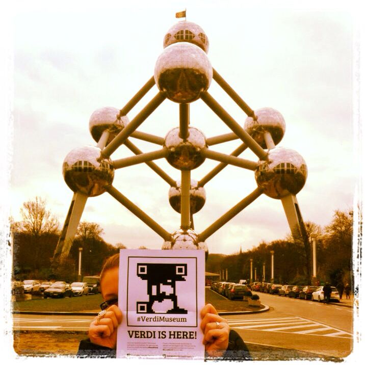 #Verdi is everywhere! Michela Zamuner #foundVerdi in Bruxelles http://instagram.com/p/hsmQSBJoG-/