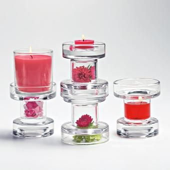 Clearly Creative Revesible Multi Candle Holder Pair P91126 by PartyLite Candles Order Online at: hannahlloyd.partylite.co.uk