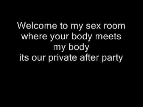 Ludacris ft. Trey Songz  - Sex Room Lyrics (Dirty Version)