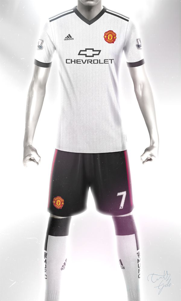Conceptual Manchester United Away kit design