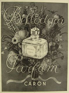 Caron Bellodgia fragrance review & history from PerfumeShrine.com.  Carnation note is unforgettable.