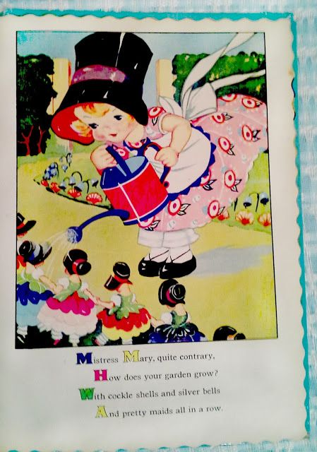 Vintage Mother Goose by Ruth E. Newton
