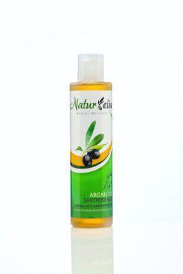 Douchegel met olijfolie en Argan olie 200ml. showergel with argan oil