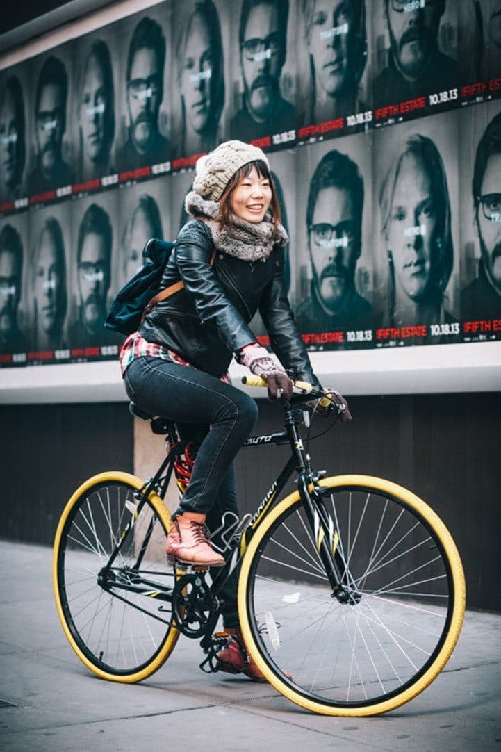 Portraits Of New Yorkers With Their Bikes City Bike Style Bike